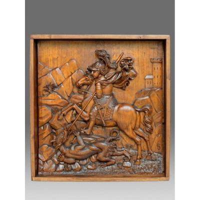 Relief Saint George 19ème Siècle