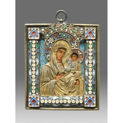 Icon of the Virgin Smolenskaja<br />