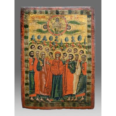 Icon Ascension Of Christ 18th Century Icone-icon- Ikone