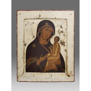 Icône Icone Icon Vierge De Tichwin
