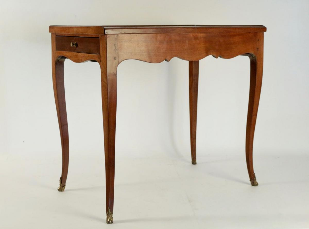 Writing Desk, Office Table, 19th Century-photo-3
