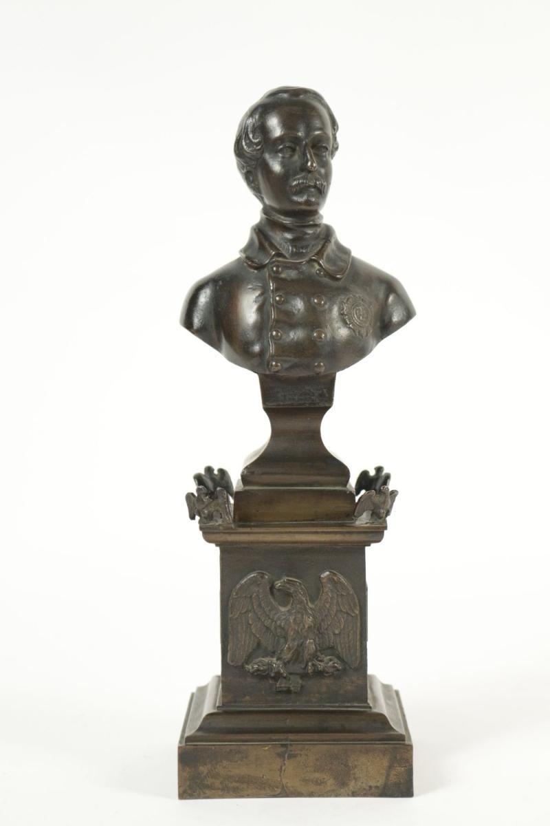 Bronze, Représentant Napoléon III