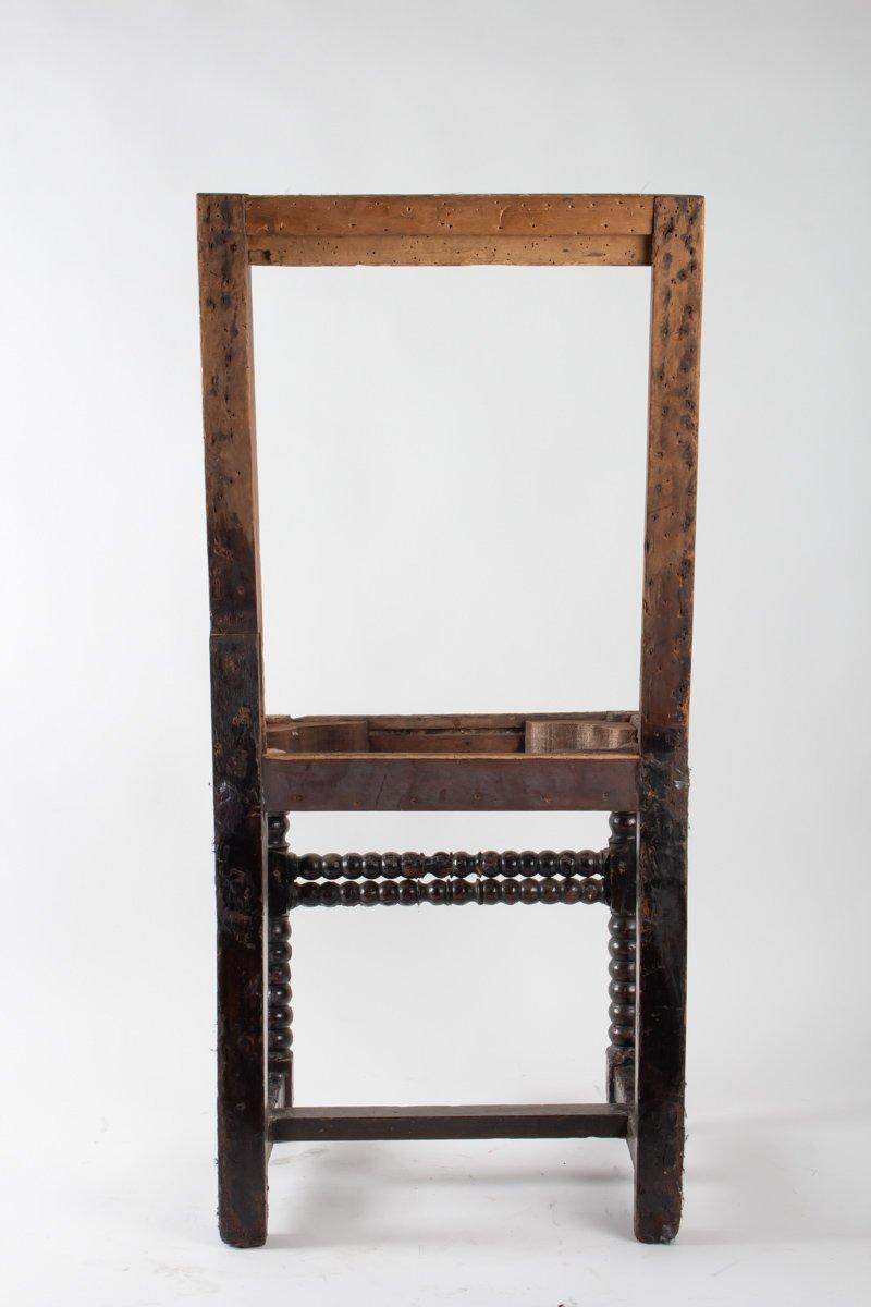 Chaise Néorenaissance, XIXème Siècle-photo-2