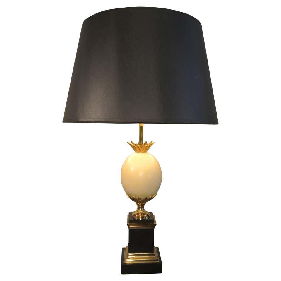 Maison Charles, Lampe Oeuf d'Autruche