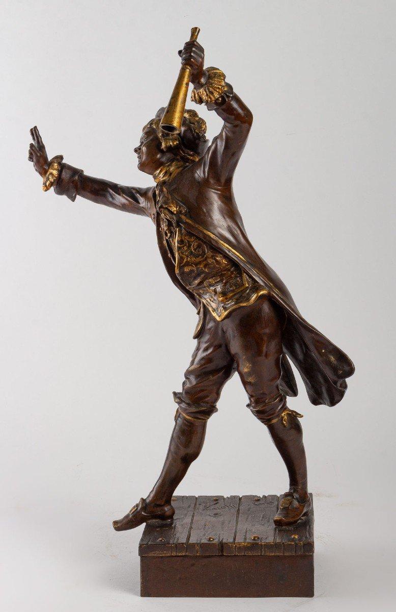 Sculpture En Régule De August Moreau-photo-1