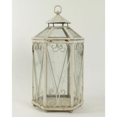 Lantern Forming A Miniature Greenhouse, 20th Century