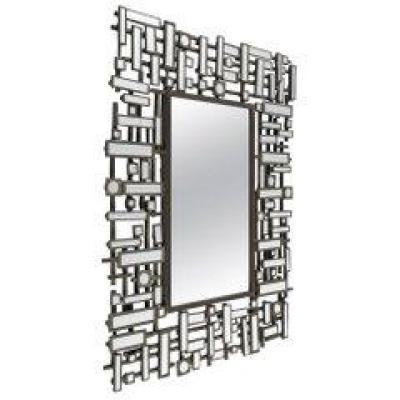 Miroirs, Art Moderne, Acier et Résine, XXème