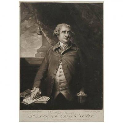 Gravure, Angleterre, 19ème Siècle, Gravée Par John Jones, Portrait De James Fose