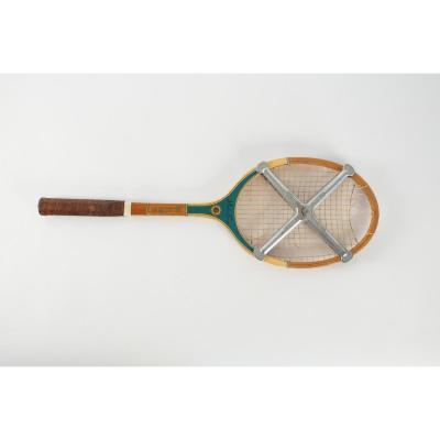 Raquette De Tennis, Miss Go, Pro , Milieu Du XXème Siècle.