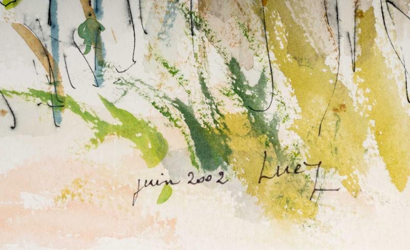 Watercolor On Luez Paper-photo-2