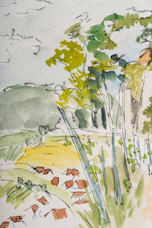 Watercolor On Luez Paper-photo-4