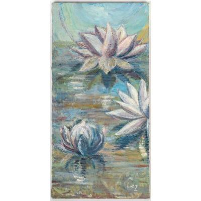 Water Lilies On The Water, XX Century