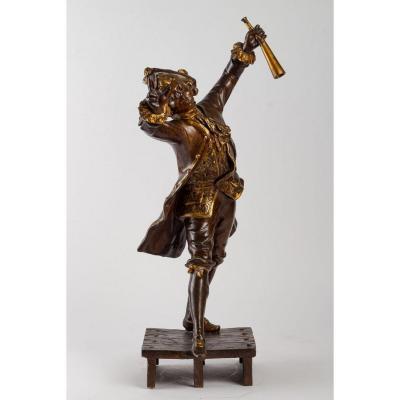 Sculpture En Régule De August Moreau