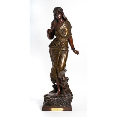 Importante Bronze, Art Nouveau