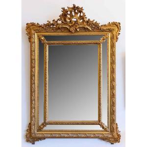 Miroir à Parclose, Style Louis XV