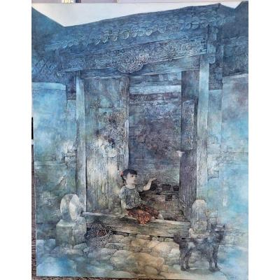 Huile Sur Toile Chinoise