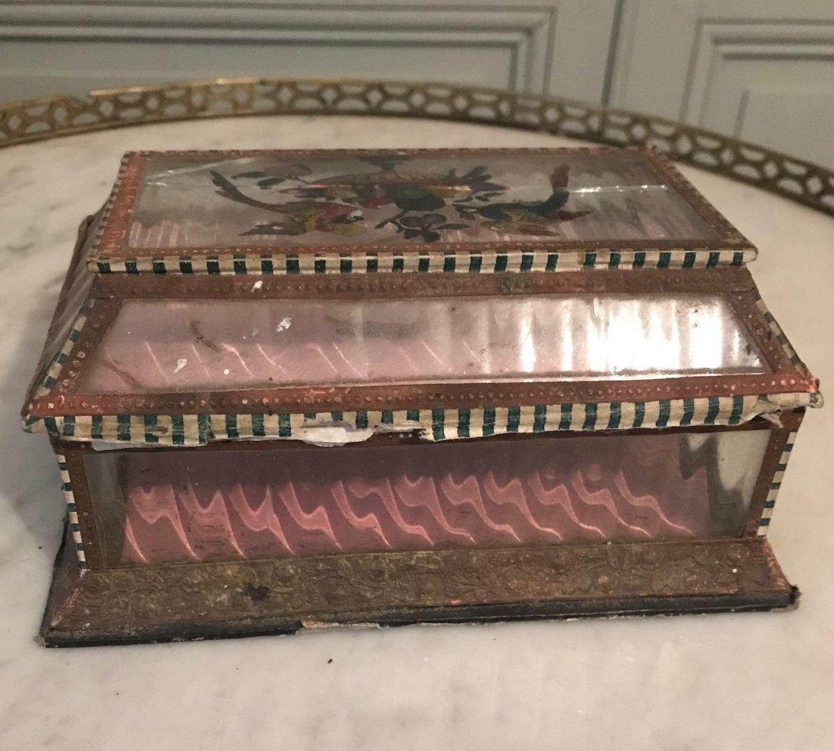 Boîte De Confiseur d'époque Charles X-photo-2