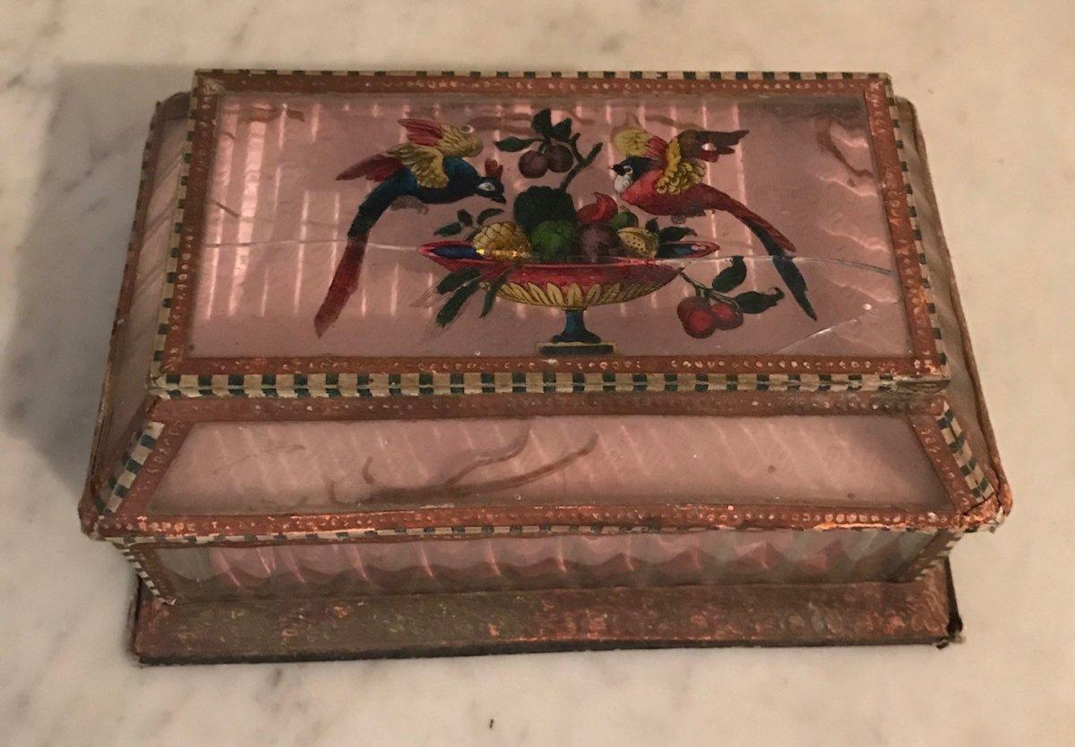 Boîte De Confiseur d'époque Charles X