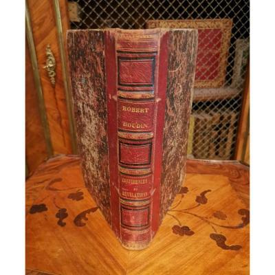 """Rare And 1st Edition Of Blois """"confidences Et Révélations"""" Robert Houdin"""