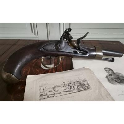 Pistolet De Cavalerie Modèle An XIII - 1811 époque 1er Empire - Dans Son Jus