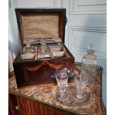 Rare Coffret à Liqueur d'époque Georges III Circa 1770