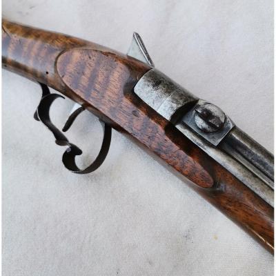 Rare Ou Prototype De Carabine De Salon à Vent C.1860