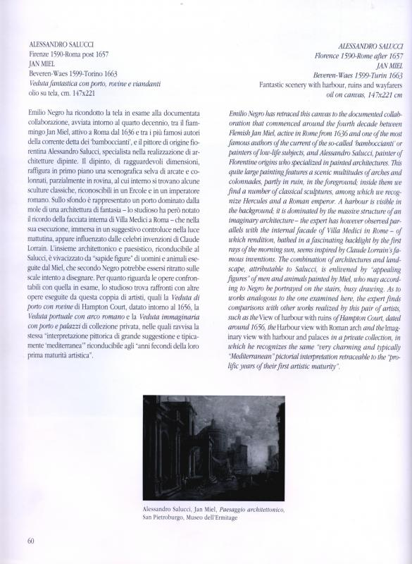 Capriccio Architectural Avec Les Statues De l'Hercule Farnèse De Giulio Cesare Et Villa Farnèse-photo-2