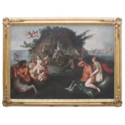 Le Banquet Des Dieux - Triomphe De Neptune Et d'Amphitrite