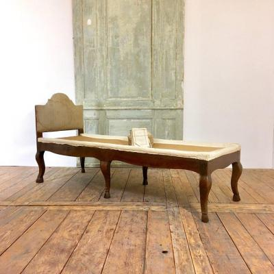 Regence  Period Chaise Longue, Beginning XVIIIth Century