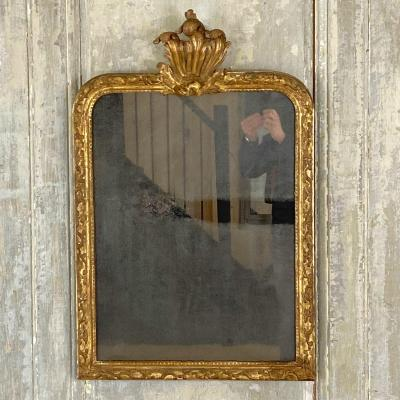 XVIII Gilt Wood Mirror