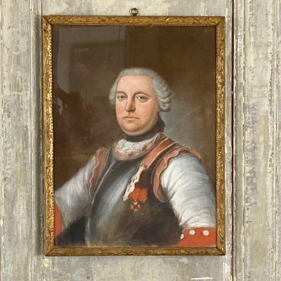 Portrait de Gentilhomme en armure XVIII