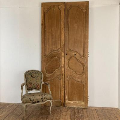 Paire de portes Provençales XVIII