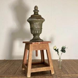 Vase En Fonte Couvert