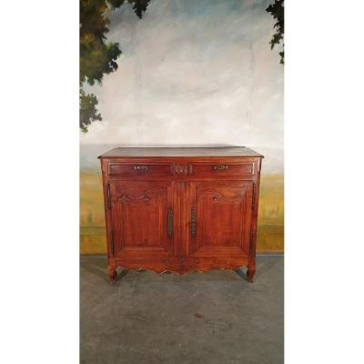 Louis XV Period Low Buffet In Cherry