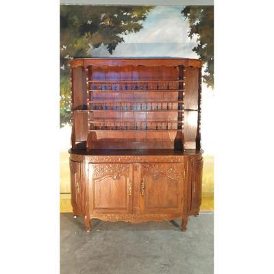 Louis XV Dresser In Oak