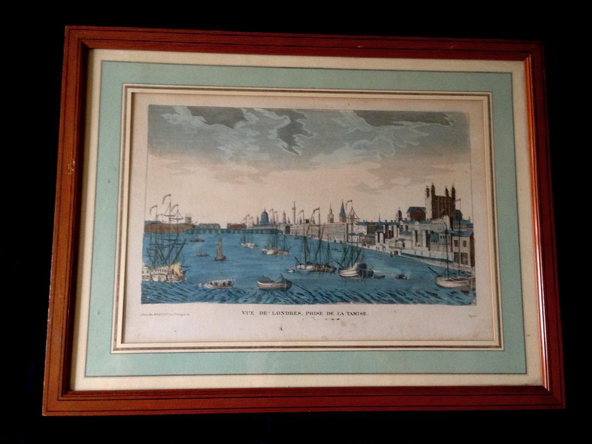 Gravure De Londres Vers 1820