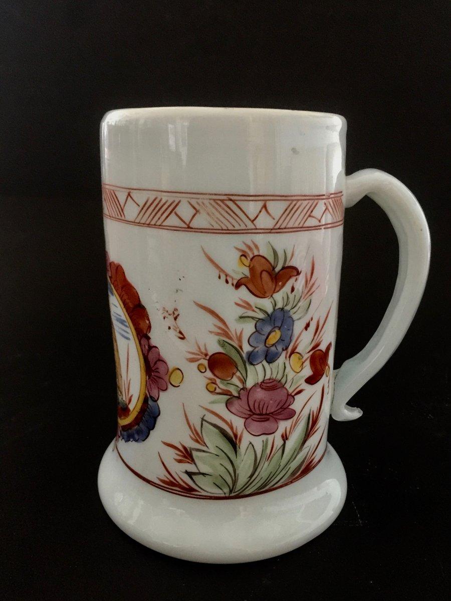 Beer Mug Glass Milk South Germany XVIII Century
