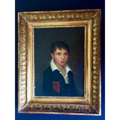 Portrait école Française Vers 1810