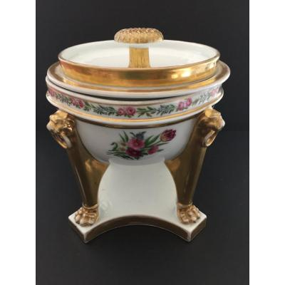 Paris Porcelain Cooler Early 19th Century