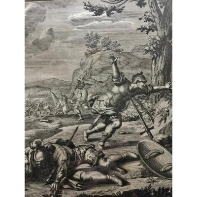 Series Of 4 Dutch Engravings Late 17th And Early 18th