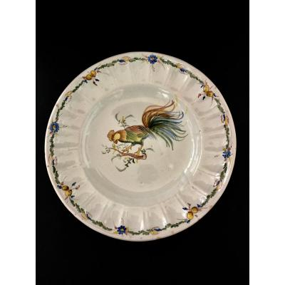Alcora Earthenware Dish 18 Th