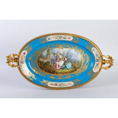 Porcelain And Gilt Bronze Cup From Sèvres