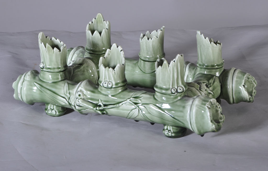 Vallauris - Vase Soliflore En Céramique à Six Emplacements