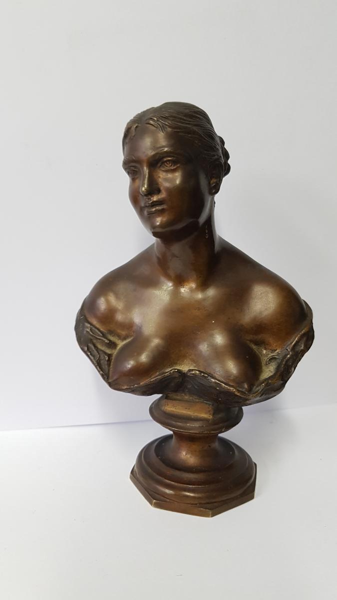 Woman Bust, Bronze
