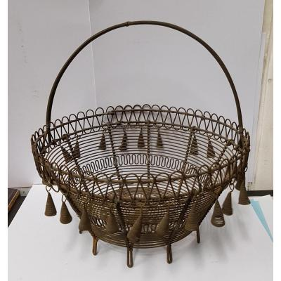 Basket Metal Popular Art