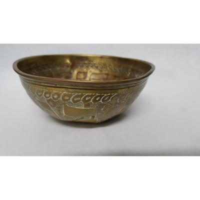 Damascene Copper Bowl