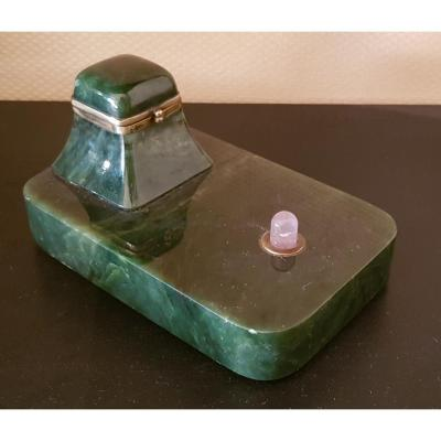 Inkwell Stone Forming Bell, Russia XIXth Century.
