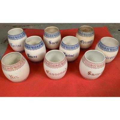 Ceramic Jars For Food Preservation - Manufacture Boch Frères Kéramis
