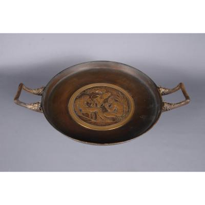 Coupe Sur Piédouche En Bronze Doré
