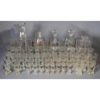 74-piece Glass Service